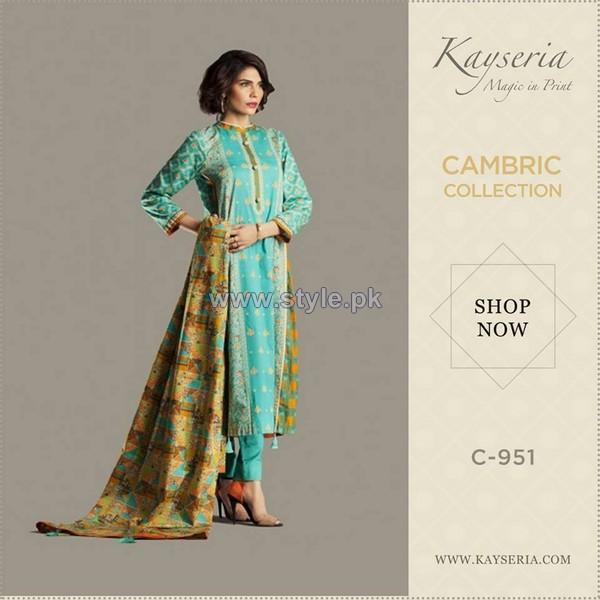 Kayseria Cambric Prints 2014 For Women 4