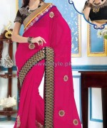 Latest Indian Sarees Designs 2014 For Women 10