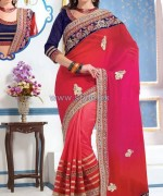 Latest Indian Sarees Designs 2014 For Women 11