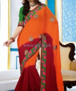 Latest Indian Sarees Designs 2014 For Women 3