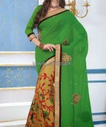 Latest Indian Sarees Designs 2014 For Women 7