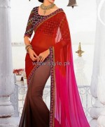 Latest Indian Sarees Designs 2014 For Women 8