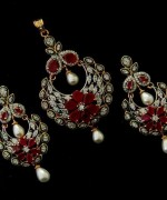 Mariam Sikander Party Jewellery Designs 2014 For Women 006