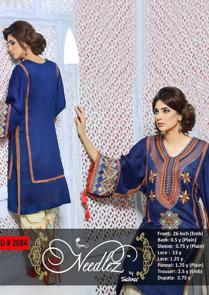 Needlez By Shalimar Eid Ul Azha Collection 2014 For Women 0010