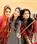Nishat Linen Pret Dresses 2014 For Fall Winter 2