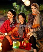 Nishat Linen Pret Dresses 2014 For Fall Winter 3