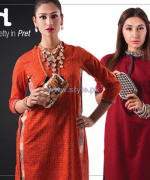 Nishat Linen Pret Dresses 2014 For Winter 6