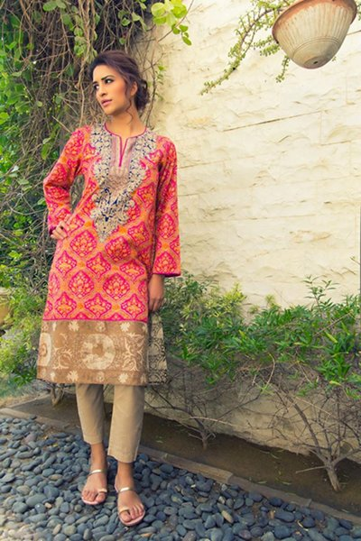 Sana Safinaz Ready To Wear Eid Collection 204 For Women
