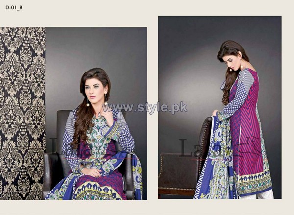 Sana Samia's Khaddi Dresses 2014 by Lala 7