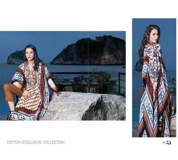 Shariq Textiles Egyptian Cotton Collection 2014 For Women 0012
