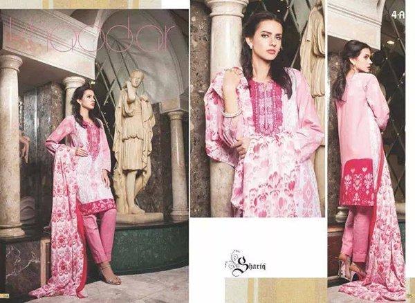 Shariq Textiles Khaddar Dresses 2014 For Women 004