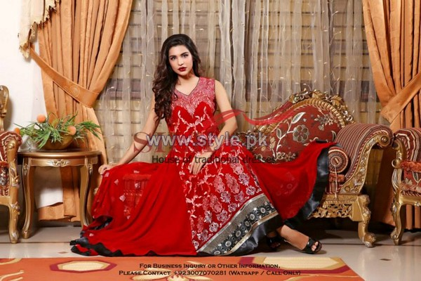 Silkasia Embroidered Dresses 2014 For Women 4