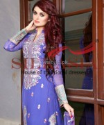 Silkasia Embroidered Dresses 2014 For Women 5