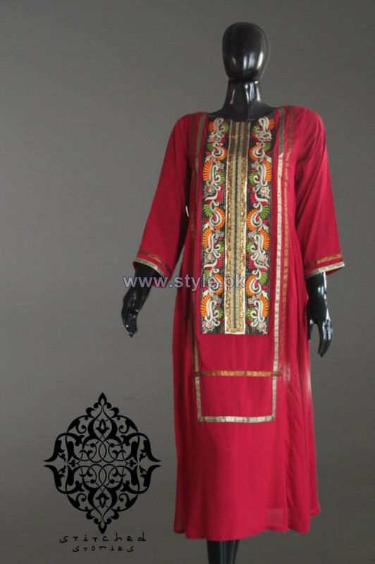 Stitched Stories Fall Collection 2014 For Women 8