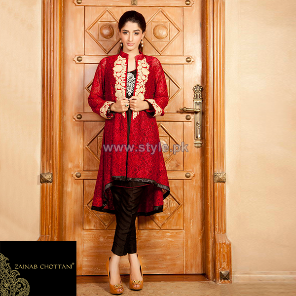 Zainab Chottani Party Wear Dresses 2014 For Women 6