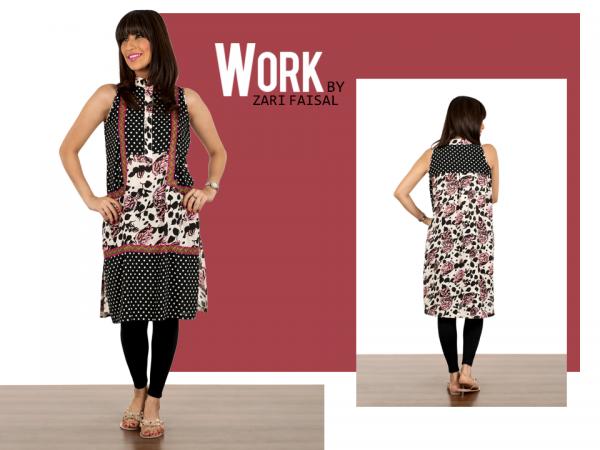 Zari Faisal Fall Dresses 2014 For Women 004