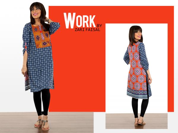 Zari Faisal Fall Dresses 2014 For Women 008
