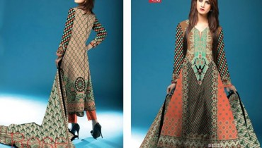 Al Hamra Textiles Winter Dresses 2014 For Women -07
