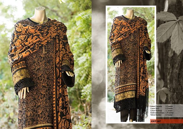 Almirah Winter Dresses 2014 For Women 0013