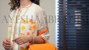 Ayesha Ibrahim Fall Dresses 2014 For Women 0012