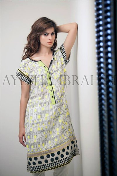 Ayesha Ibrahim Fall Dresses 2014 For Women 006