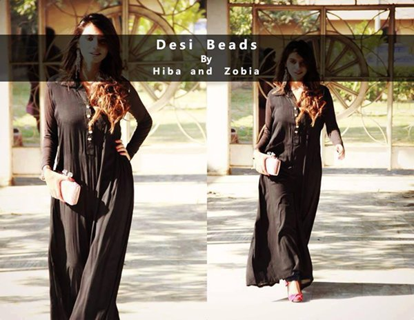 Desi Beads Winter Dresses 2014 For Women 008