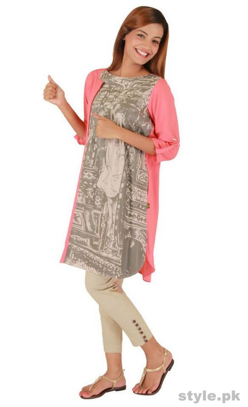 Ego Winter Dresses 2014 For Women 6