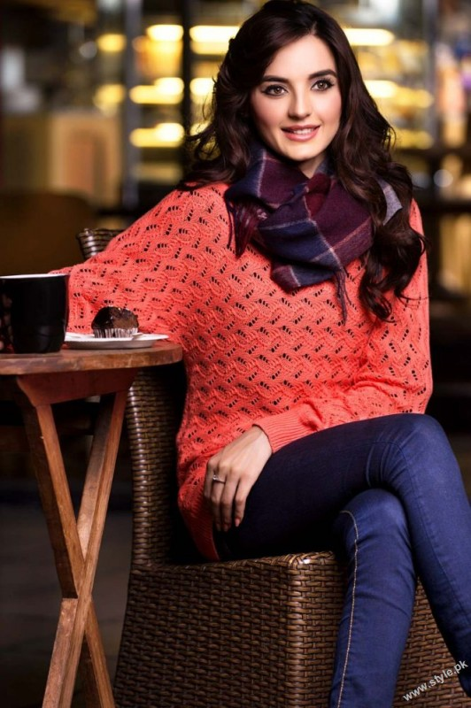 FULL SLEEVES NETTED SWEATER Zeen Sweaters 2014