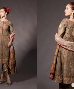 Fahad Hussayn Bridal Wear Dresses 2014 For Girls 1