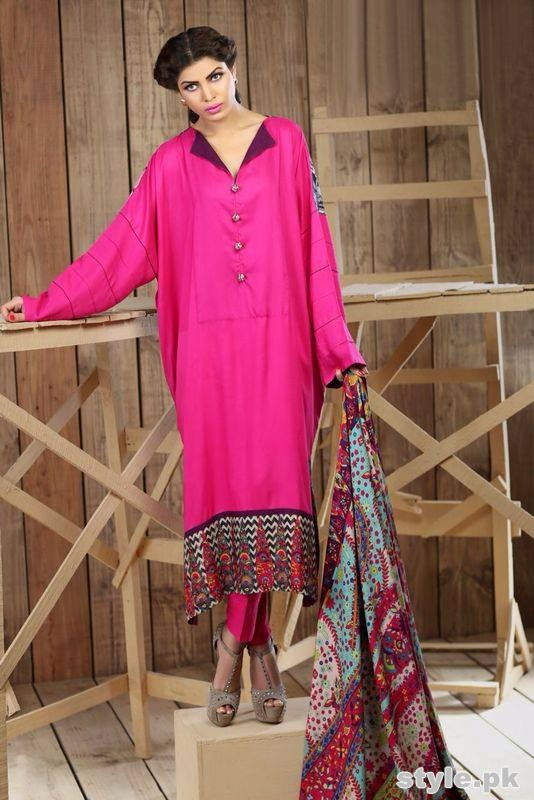 Hadiqa Kiani Winter Dresses 2014 Volume 2 3