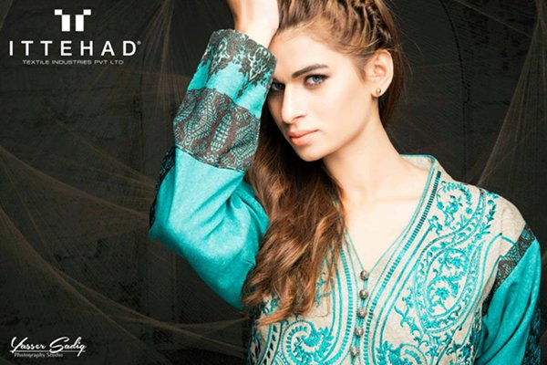 Ittehad Textiles Winter Dresses 2014 For Women 006