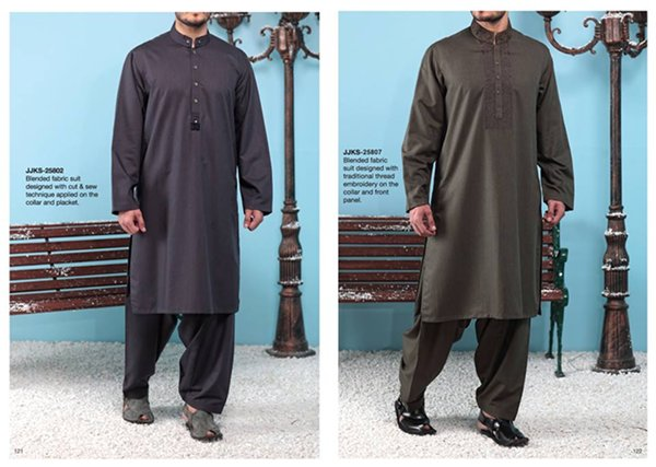 Junaid Jamshed Winter Dresses 2014 For Men 006