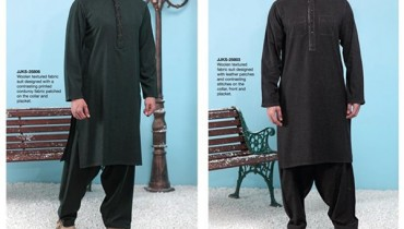 Junaid Jamshed Winter Dresses 2014 For Men 008