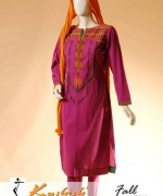 Kashish Winter Dresses 2014 For Women 001