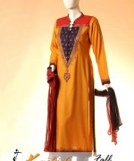 Kashish Winter Dresses 2014 For Women 006
