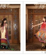 LSM Fabrics Rosette Digital Print Dresses 2014 For Women 2