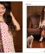 LSM Fabrics Rosette Digital Print Dresses 2014 For Women 3