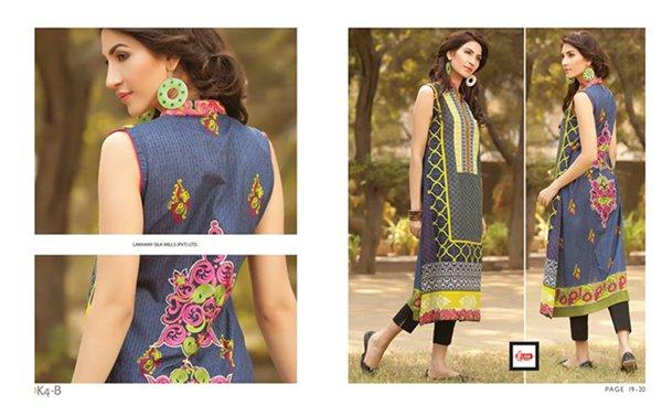 LSM Fabrics Winter Dresses 2014 Volume 4 For Women