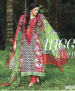 Maria B Winter Shawl Dresses 2014 For Women 2