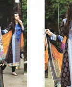 Maria B Winter Shawl Dresses 2014 For Women 4