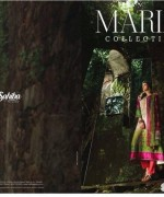 Maria B Winter Shawl Dresses 2014 For Women 8