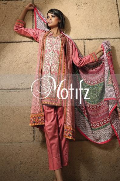 Motifz Winter Dresses 2014 For Women 005