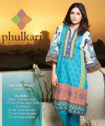 Phulkari By Taana Baana Winter Dresses 2014 Volume 1 For Women 003