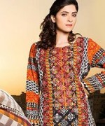 Phulkari By Taana Baana Winter Dresses 2014 Volume 1 For Women 004