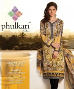 Phulkari By Taana Baana Winter Dresses 2014 Volume 1 For Women 005
