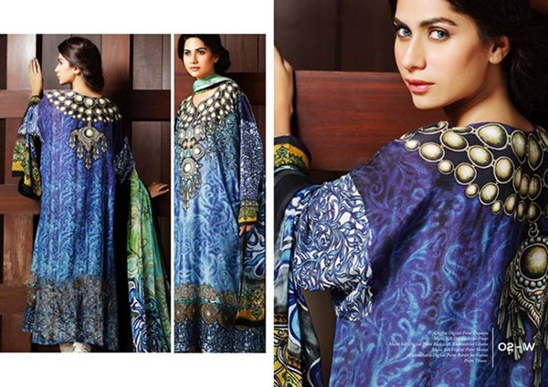Resham Ghar Winter Dresses 2014 For Women 001
