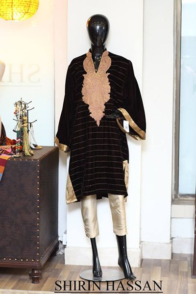 Shirin Hassan Winter Dresses 2014 Volume 2 For Women 0010