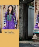 Subhata Linen Dresses 2014-2015 by Shariq Textile 4