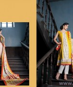 Subhata Linen Dresses 2014-2015 by Shariq Textile 5