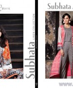 Subhata Linen Dresses 2014-2015 by Shariq Textile 6